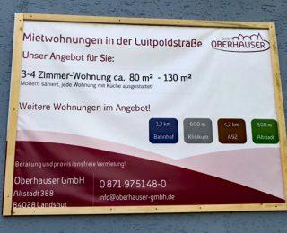 Fertigstellung Luitpoldstraße 11!